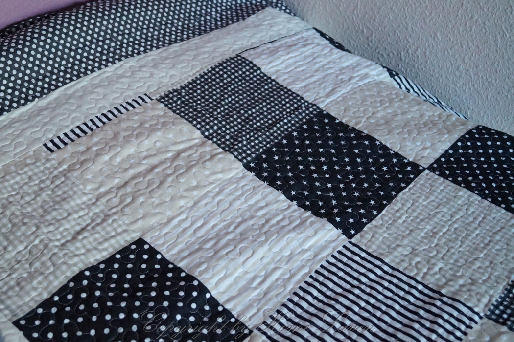 tagesdecke bett berwurf decke 140 x 220 patchwork plaid landhaus shabby clayre ebay. Black Bedroom Furniture Sets. Home Design Ideas